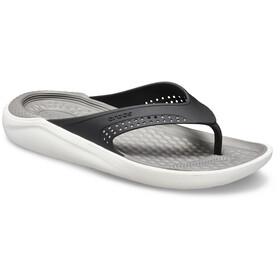 Crocs LiteRide sandaalit, black/smoke